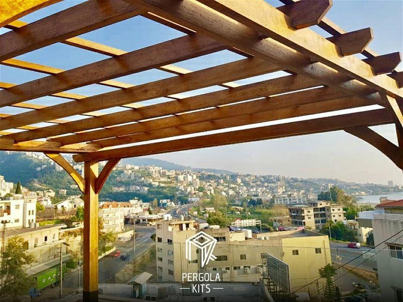 Attached Teak Burma Pergola Kits. PergolaKitsLebanon. PergolaKits ... (Nahr Ibrahim, Mont-Liban, Lebanon)