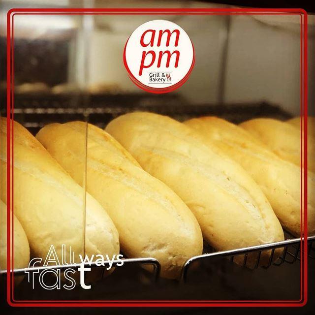 @ampmresto - 🥖 100% fresh 🥖 ampm ampmresto Grill Bakery Saj ... (am pm)