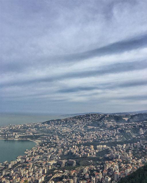 Can't get enough of this view ♥️ peterwenmaken @livelovejounieh 🤩...... (Harîssa, Mont-Liban, Lebanon)