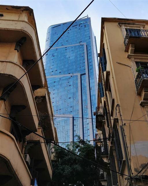 Beirut 🖤.... ihavethisthingwithbeirut samabeirut tower ... (Beirut, Lebanon)