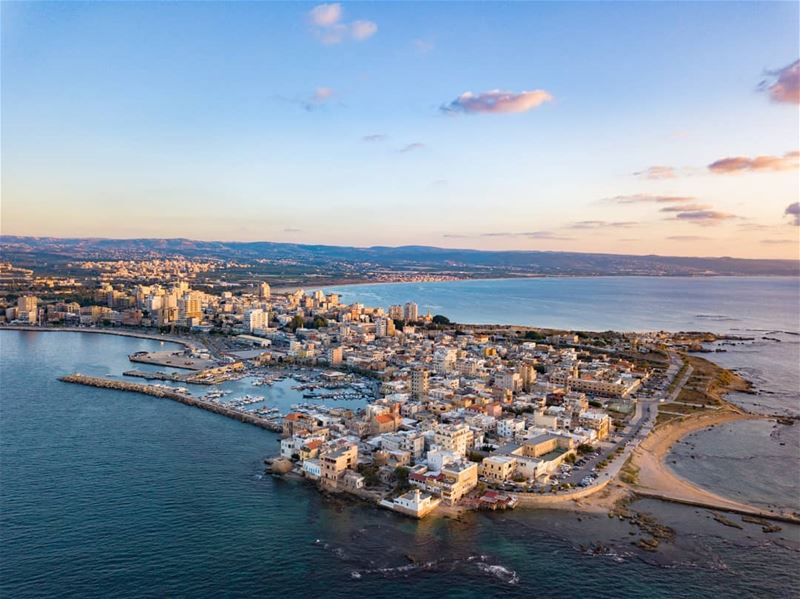 The beauty of T Y R E.... AboveLebanon Lebanon LiveLoveBeirut ... (Tyre, Lebanon)