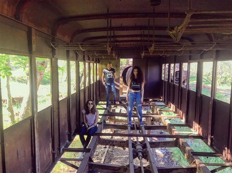 Abandoned train station. 🚂 structure abandonedplaces oldtrain bekaa ...
