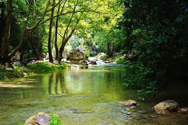 Naher Ibrahim, chouen Lake naheribrahim chouen lake mountlebanon ...