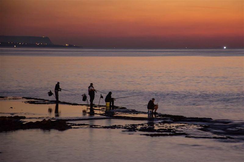 Motion, reflection and blurr... shot in lebanon tripolilebanon seaside ...