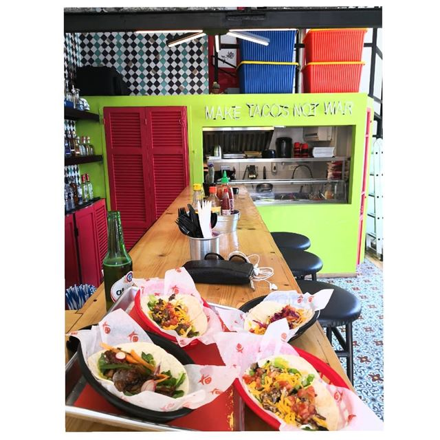 Make tacos not war 🌮--- TakeMeTo tacodemadre marmikhael beirut... (Taco De Madre)