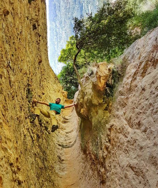 Experience Zero Gravity -- Indiana Jones Rock Cavity... (Mount Lebanon Governorate)
