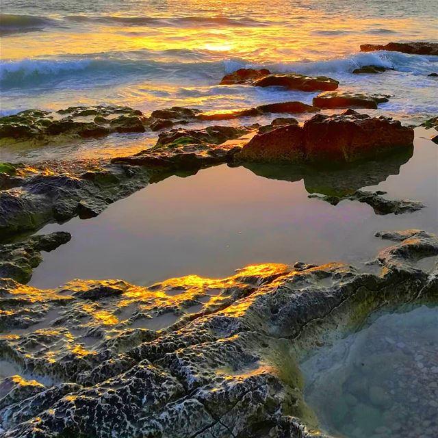 sunsettime sea goldensea ...