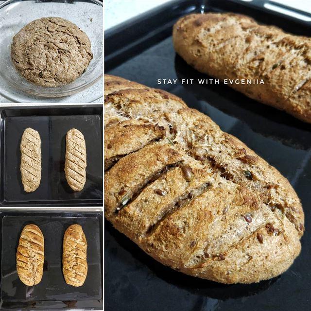 """☑️""""ДОМАШНИЙ ХЛЕБ""""Я не очень люблю покупной хлеб, а вот домашний хлеб кушаю (Jel El Dib, Mont-Liban, Lebanon)"""