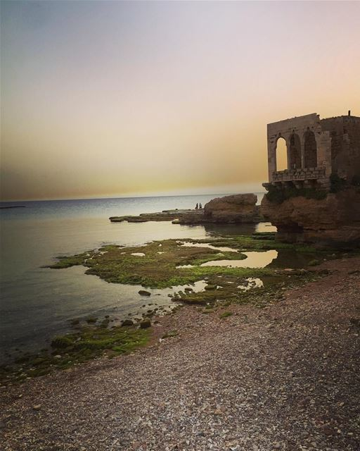 Sunset time 😍 lebanon batroun raysbatroun bahsa travel ... (RAY's Batroun)