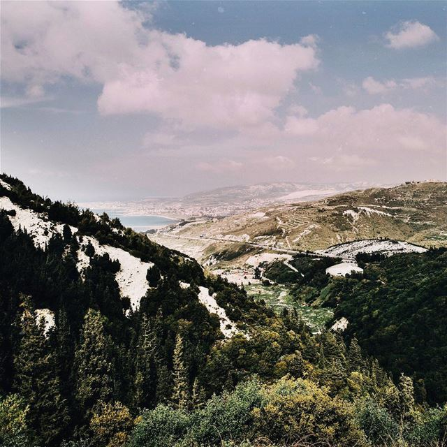 One of the places I love going to just to sit down on a rock, gaze and get... (Lebanon)