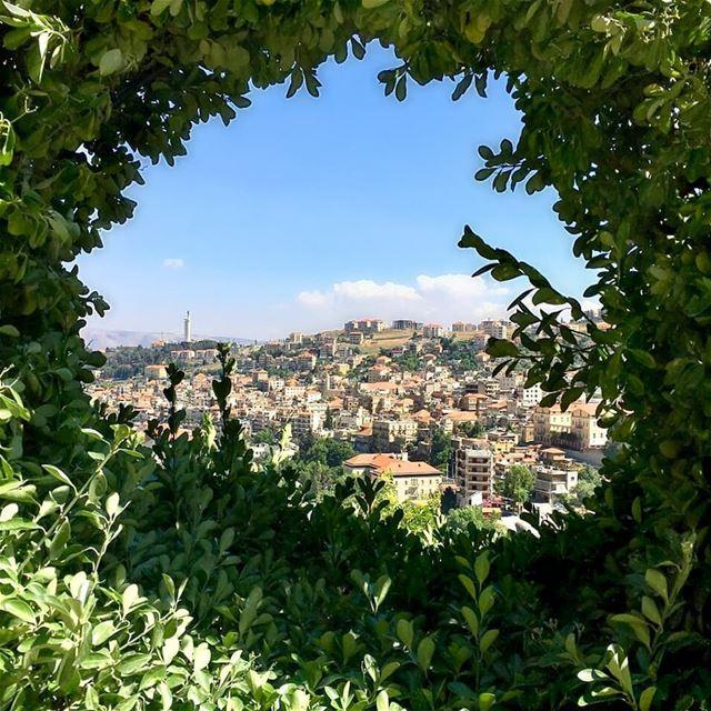 New day New blessing 🍃🏡🍃Good morning 💙------------------------------- (Zahlé, Lebanon)