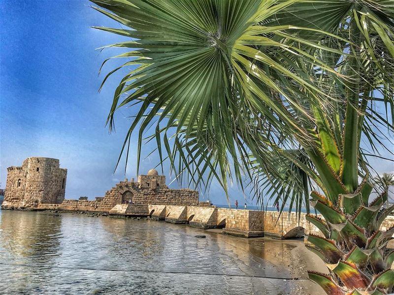 Sea castle .. saida mylebanon castle old history... (Saïda, Al Janub, Lebanon)