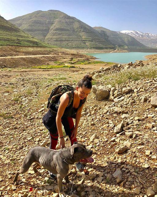 Early morning hike 🏃♀️@skinprolb Hiking Lebanon Faraya LoveLebanon ... (Faraya, Mont-Liban, Lebanon)