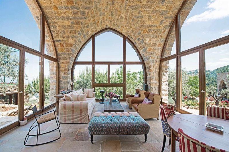 instagood love beautiful art architecture livelovebeirut ... (Baakline, Mont-Liban, Lebanon)