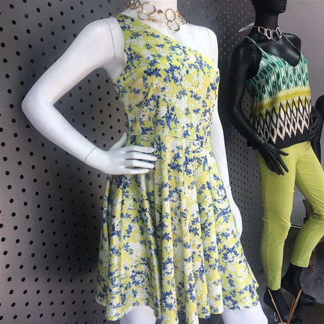 Floral fresh summer dress DailySketchLook 288 shopping italian ... (Er Râbié, Mont-Liban, Lebanon)