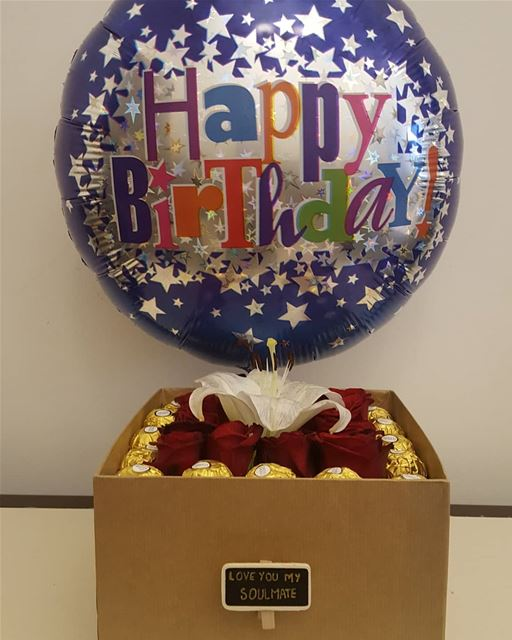 Order now the birthday packageT: 71159985 Lebanon gift giftshop ...