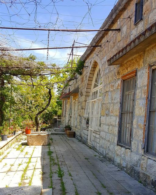 Never forget your roots, where you came from 🏡 ......... Lebanon... (Beit Ed Din, Mont-Liban, Lebanon)