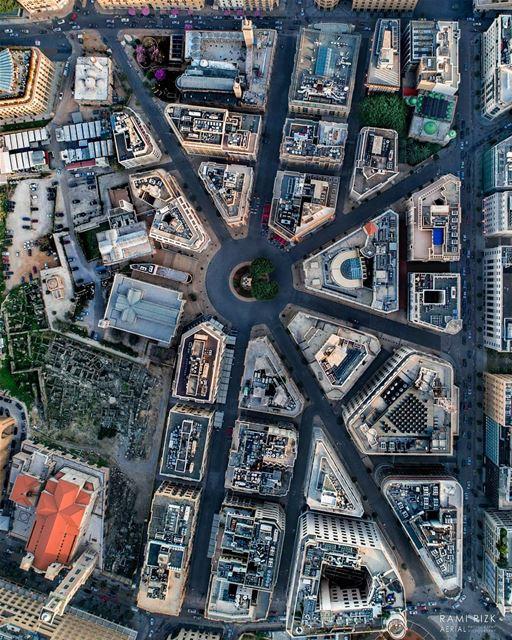 Heart Of BEIRUT 🇱🇧... lebanon beirut dji drones quadcopter ... (Place de l'Étoile)