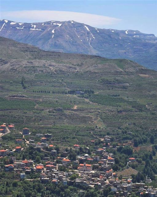 Although the world is full of suffering, it is also full of the overcoming... (Ehden, Lebanon)