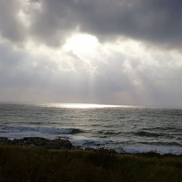 today sunsettime sea...