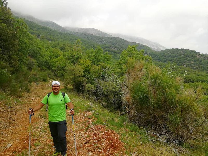 Preparing for our next hike29-4-2018 mapsandnomads ... (Saghbîne, Béqaa, Lebanon)