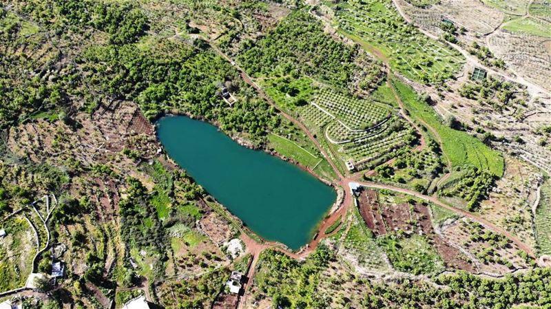 nature lake lebanon spring ehden Bkouffa aple tree fruit ... (Ehden, Lebanon)