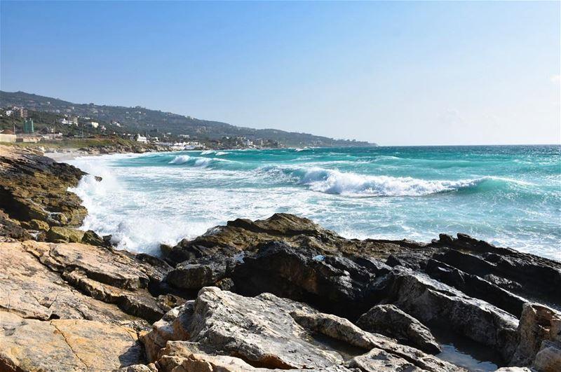 You can find me where the Music meets the Ocean.. -📍Kfar Abida Rocky... (Kfar Abida)
