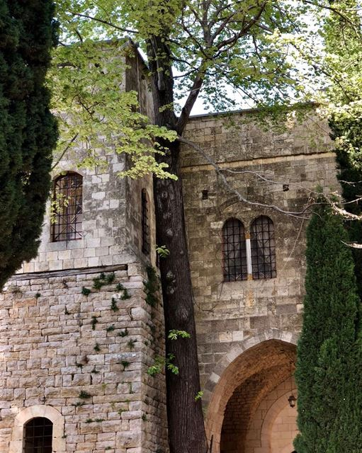 Imposing but simple design @beiteddine bestoflebanon castles lebanon🇱🇧