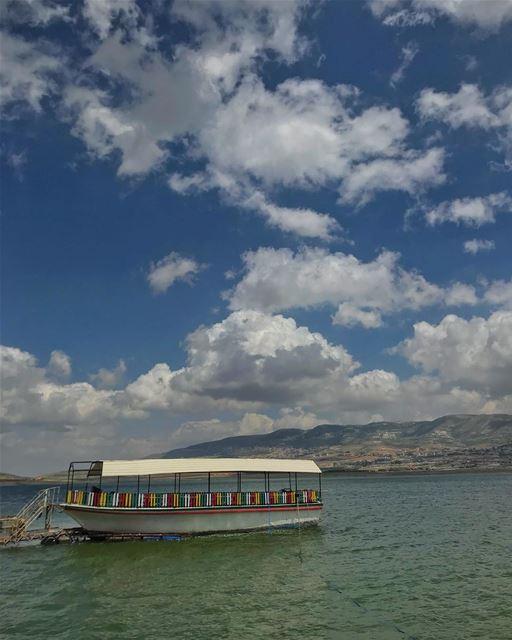 📍Stop✋🏻 number 1, Qaraoun❗️• ptk_lebanon super_lebanon hd_lebanon ... (Lake Qaraoun)