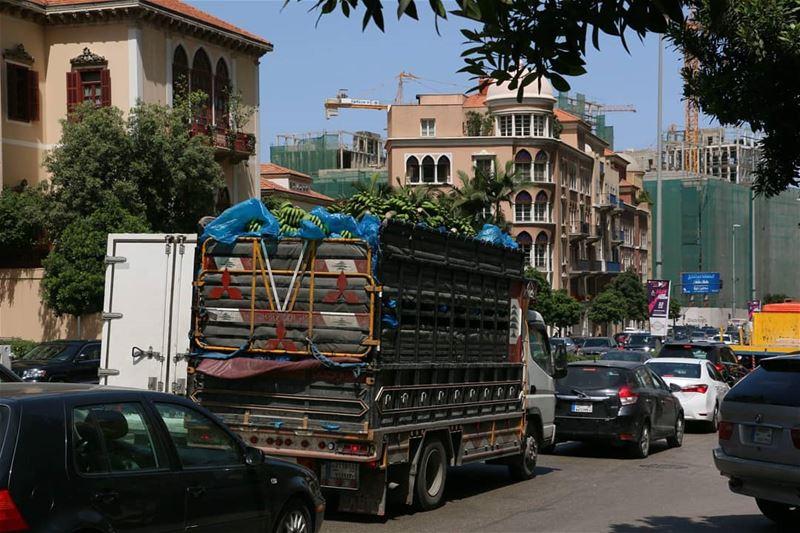 BBB...Beirut Banana Business... thisislebanon79 viewbug natgeoyourshot ... (Beirut, Lebanon)