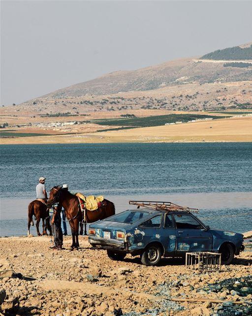 بحيرة القرعون...❤️🇱🇧💚 (Lake Qaraoun)