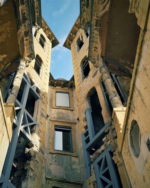 BeitBeirut 🖤 .... lebanontimes lebanon_hdr lebanonspotlights ... (Beirut, Lebanon)