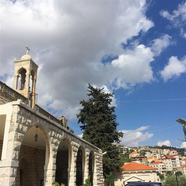Zahle Lebanon bekaa marelias church vintage village stonewalls ... (Zahlé, Lebanon)