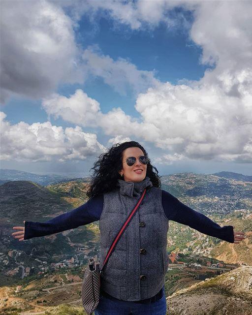 Embracing my lovely Lebanon 💙 Внимание-внимание всем, кто находится в наше (Saint Charbel-Faraya)
