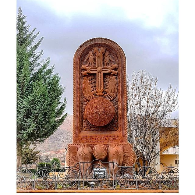 Victory belongs to those that believe in it the most and believe in it the... (`Anjar, Béqaa, Lebanon)