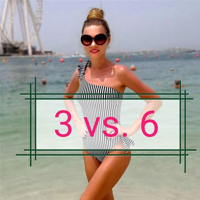 -I'm on a 3 diets now!-Why?-Because one is not enough!  Are you, too? ... (The Beach Dubai)