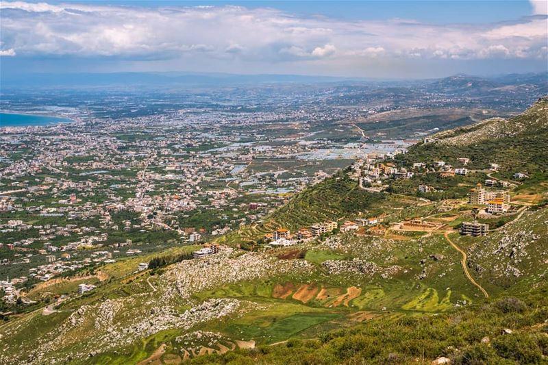Akkar, as seen from Terbol ... (Jabal Tourbol)