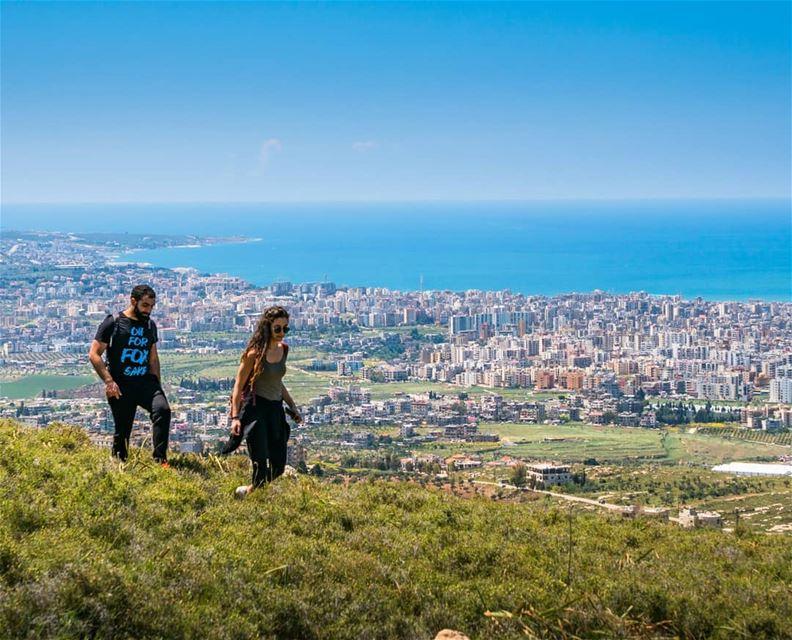 Hiking up Jabal Terbol, a mountain extending from Tripoli city ... (Jabal Tourbol)