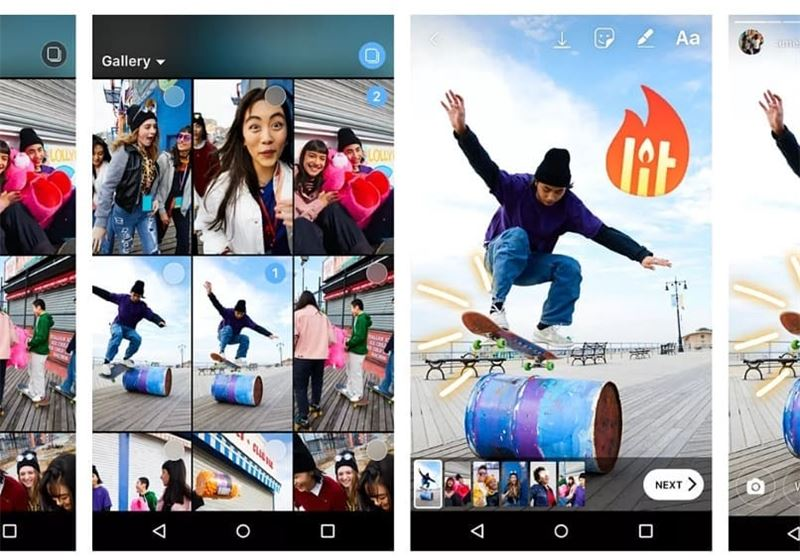 A new Instagram update will soon let you post multiple videos and images... (Downtown Beirut)