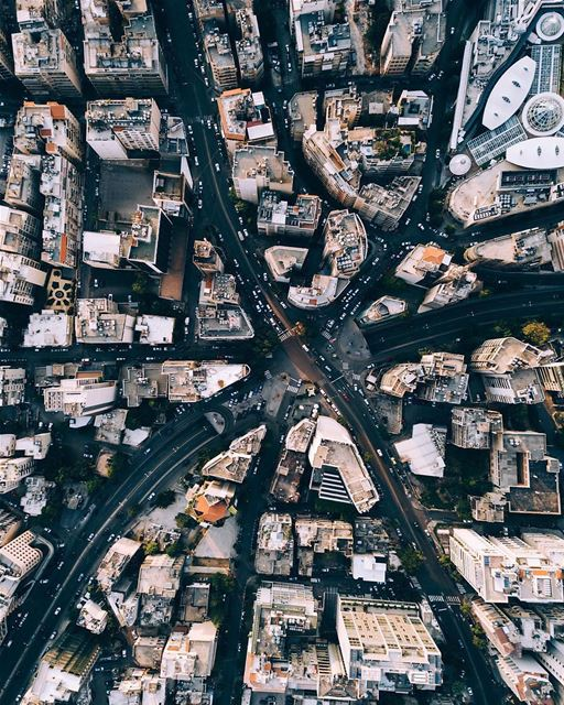 Eagle eye views 🦅🖤By @pixelville Achrafieh Beyrouth Beirut Liban ... (Achrafieh, Lebanon)