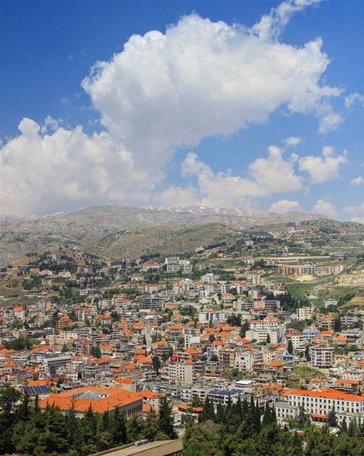 """There's a lot of optimism in changing scenery, in seeing what's down the... (Zahlé, Lebanon)"