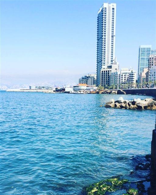 Let's Go To The Beach 🏝. lebanon beirut livelovebeirut ... (Beirut, Lebanon)