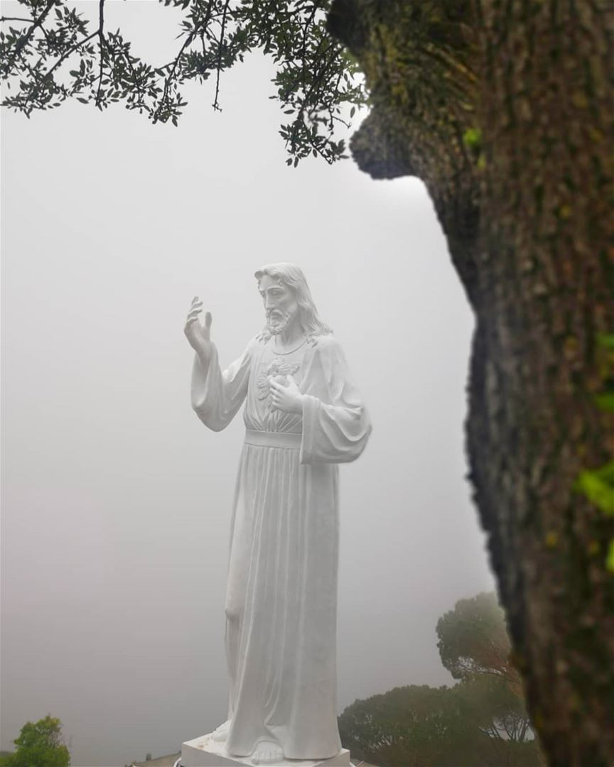 I am the Way, the Truth, and the Life. No one comes to the Father except... (Ghosta, Mont-Liban, Lebanon)