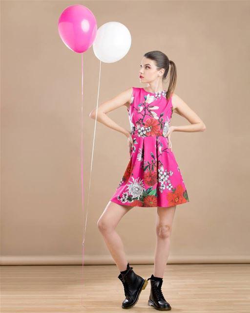 New Pretty dress SS18 by La Coccinelle DailySketchLook 295 shopping ... (Er Râbié, Mont-Liban, Lebanon)