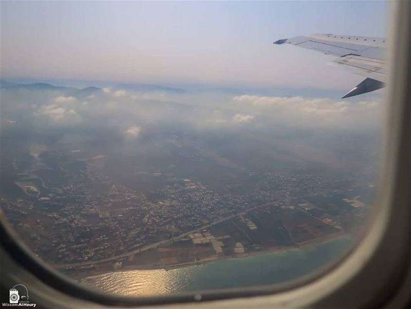 beirut khalde secondsaftertakeoff airplane_lovers airplanewindow... (Khaldah, Mont-Liban, Lebanon)