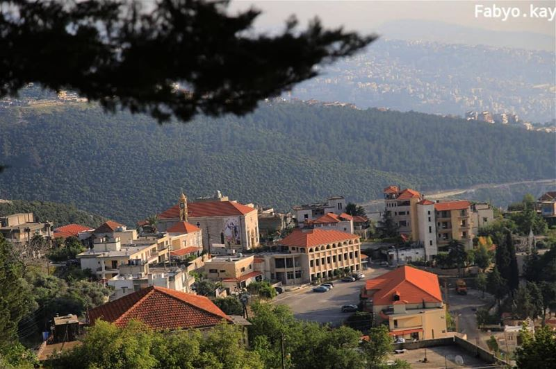 libanon Sunday Church village Morning daroun naturelovers ig_lebanon... (Harîssa, Mont-Liban, Lebanon)