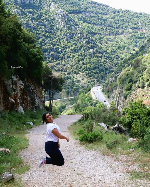 UP & UP 🙌..Enjoying the view 😁 (Mount Lebanon Governorate)