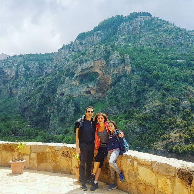 Yes Lebanon is beautiful in its mountains, in its valleys, in its... (Deir Mar Lichaa Kanoubine)