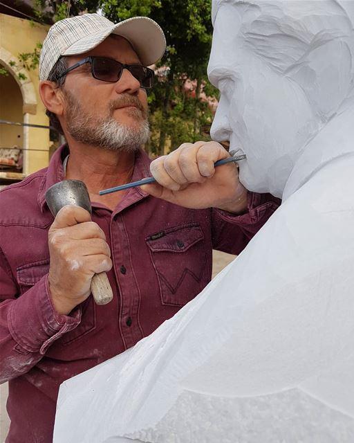 Work with Passion____ nayef_alwan sculptor artist art sculpture ... (Lebanon)