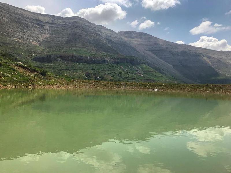 Reflection ‼️............... lebanon nature landscape ... (Lebanon)